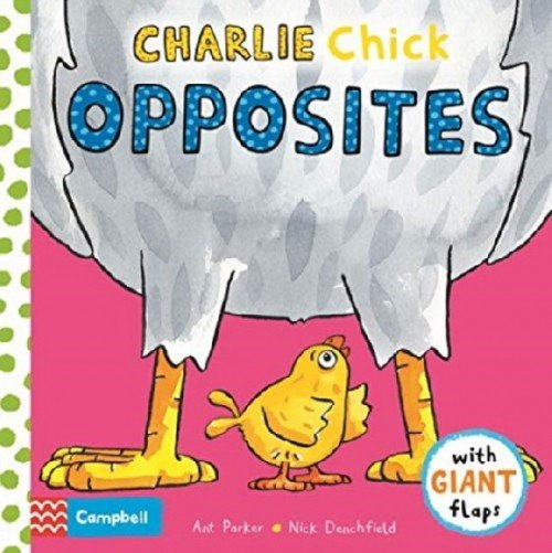 Charlie chick opposites. Board book