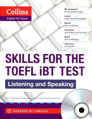 Collins TOEFL Listening and Speaking. (Collins English for the TOEFL Test) (+ Audio CD)
